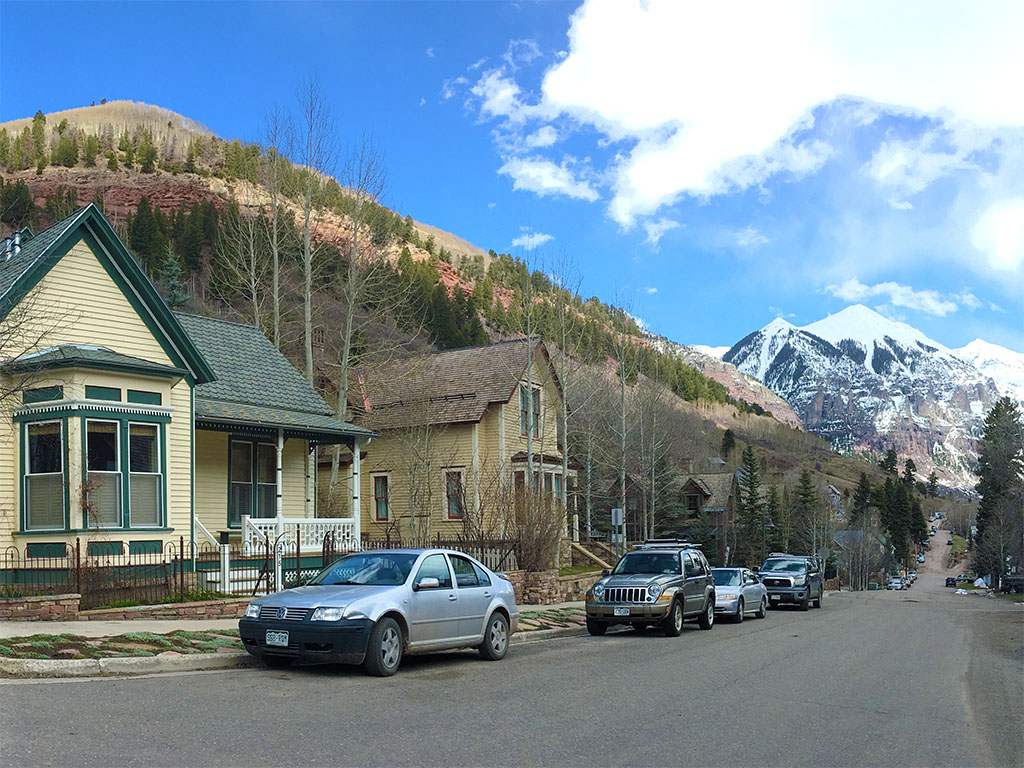 Telluride Downtown Sunny Side Homes